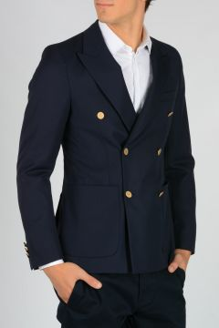 Virgin Wool Gabardine Jacket
