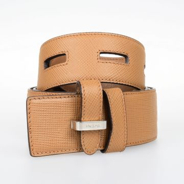Saffiano Leather Belt 40 mm