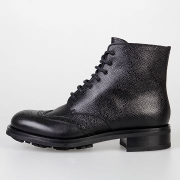 Stivali in Pelle Brogue