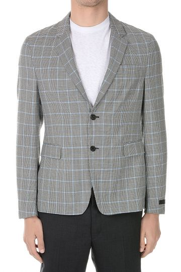 Mohair and Virgin Wool Blazer