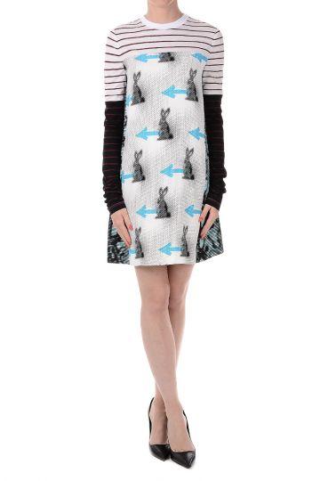 Cotton Long Tee Dress