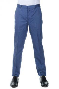 Pantaloni Chino in Gabardina di Cotone