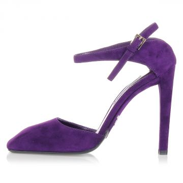 Suede Heeled Shoe