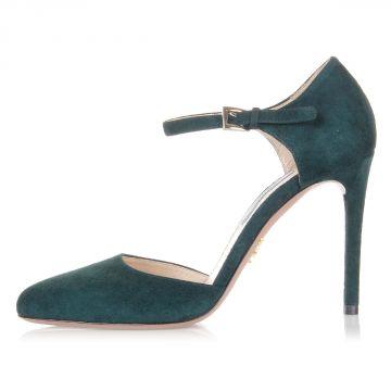 Sandali in Casmocio con tacco 10 cm
