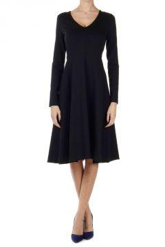 Vestito in lana vergine stretch