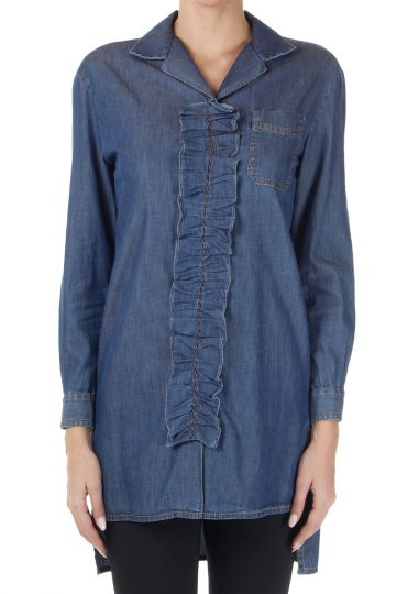 Camicia TWILL CHAMBRAY in Denim