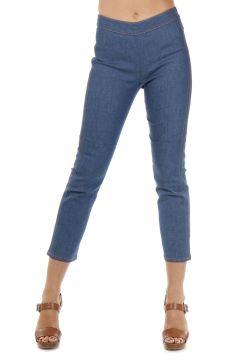 Jeans Capri in Denim Stretch 18 cm