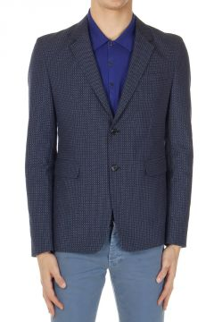 Jacquard Cotton Blazer BALTIC