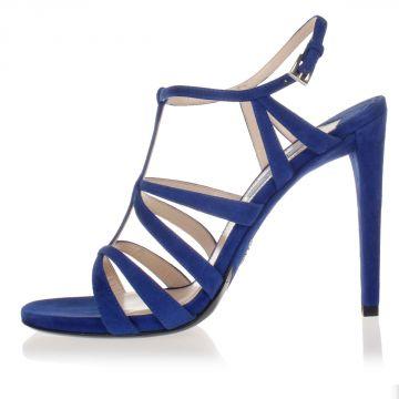 Sandalo in Camoscio Tacco 12 cm