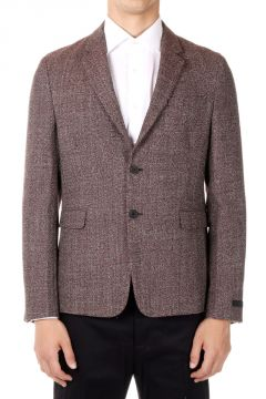 Grisaglia Virgin Wool Single Breasted Jacket