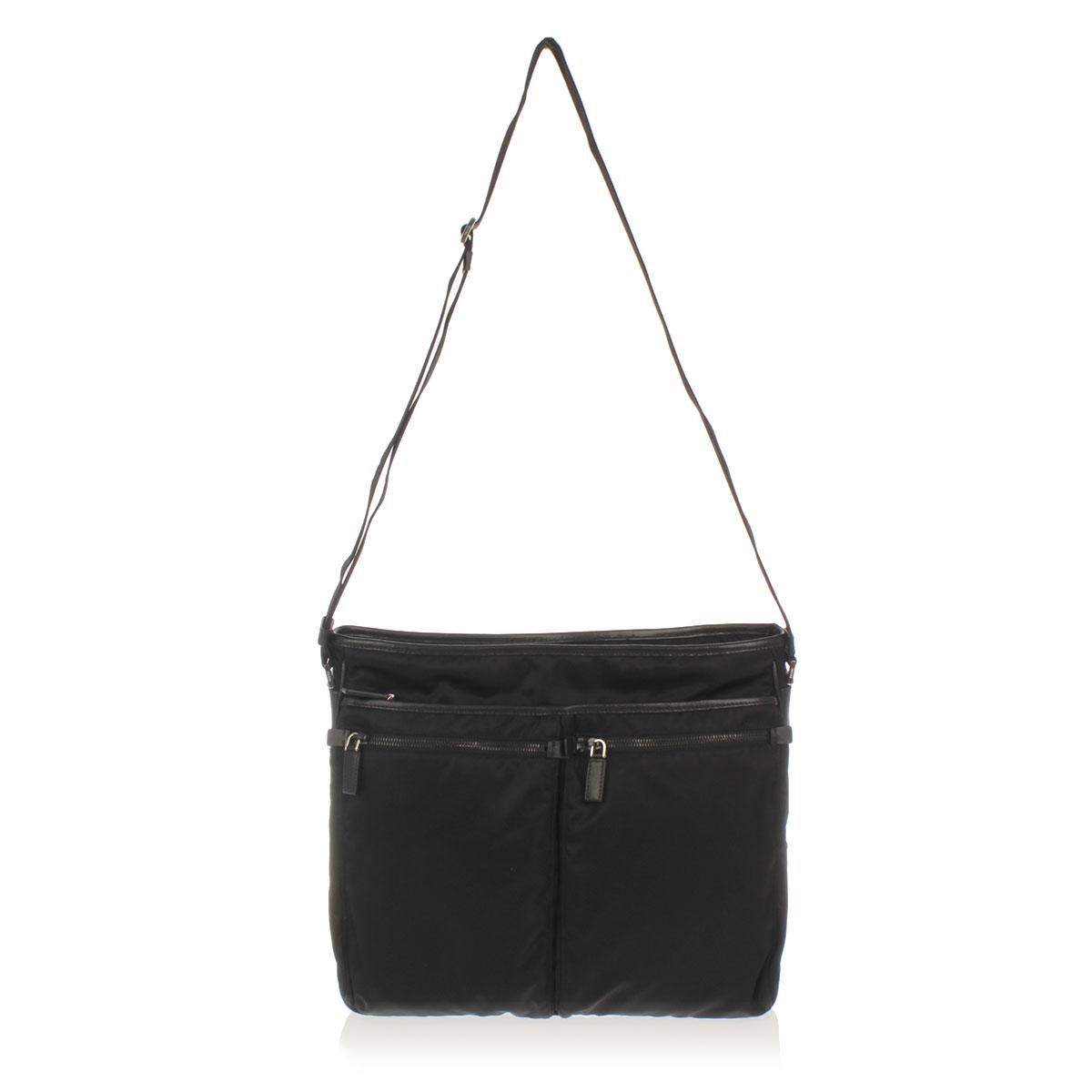 prada men fabric bandoliera shoulder bag glamood outlet. Black Bedroom Furniture Sets. Home Design Ideas
