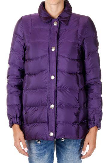 Down Coat with Detachable fur