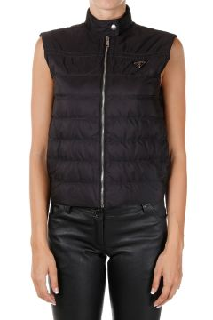 Sleeveless Nylon Down Padded Gilet