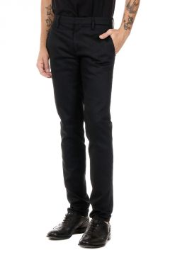Pantaloni in Misto Cotone Tight Fit