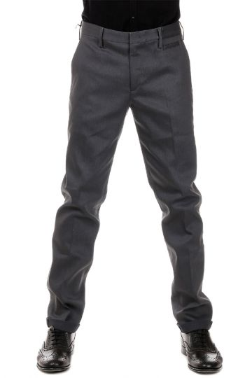 Pantaloni in Misto Cotone Tight Fit