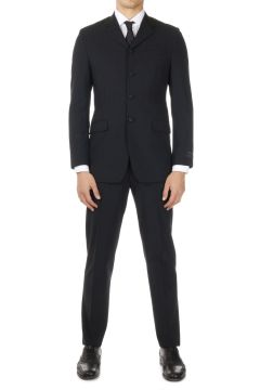 Wool Blend DRAP Smoking Suit