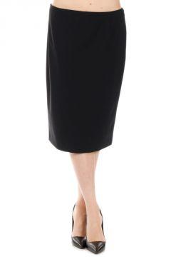 Virgin Wool Stretch Pencil Skirt