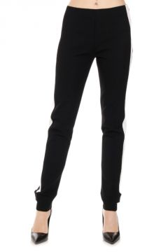 Pantalone stretch con Banda Laterale