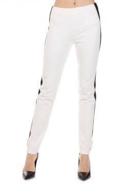 Pantalone stretch con Banda Laterale