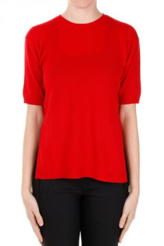 Cashmere Short Sleeves Sweater