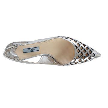 Scarpa Decollette in Pelle 7 cm