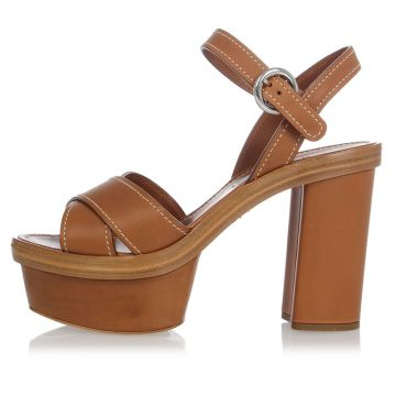 Leather Pumps Shoes Sandals 10 cm