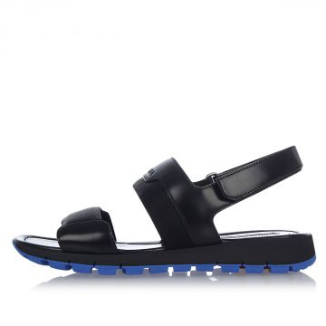 Brushed Leather Sandals