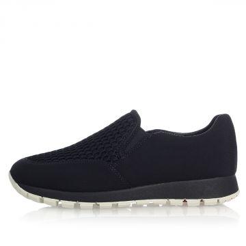 Sneaker Slip On in Tessuto