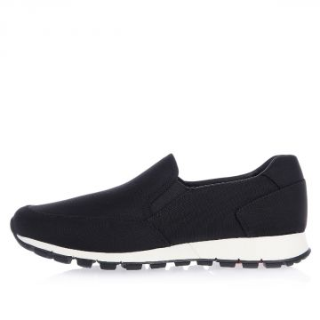 Technical Fabric Slip On Sneakers