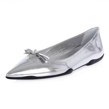 Ballerina in Pelle Vernice