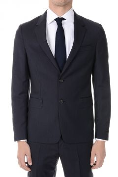 Virgin Wool and Silk Blazer
