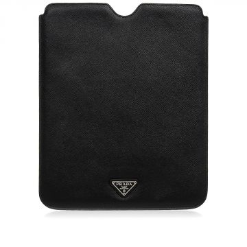 Custodia per iPad in Pelle Saffiano