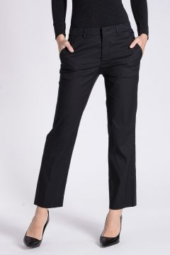 Stretch Cotton Popeline Pants