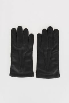 Deer Skin Leather Gloves