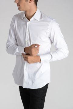 Camicia in Cotone Misto