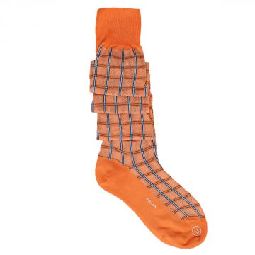 Madras Cotton Socks