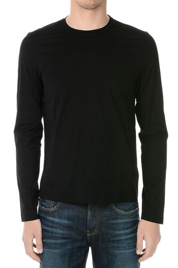 Stretch Cotton Long Sleeves T-shirt