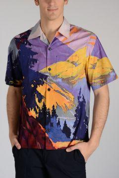 Cotton Popeline PANORAMA Shirt