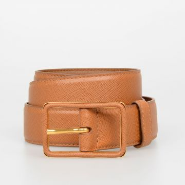 30mm Saffiano Leather Belt