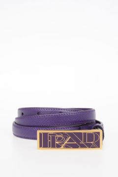 Leather SAFFIANO Belt 15 mm