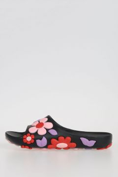 Floral Rubber Slides