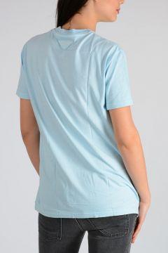 Set 3 T-shirt Cotton Light Blue /Pink/Green