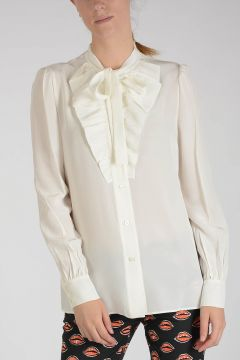 Blouse Silk with Bow