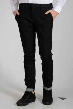 17cm Cotton Blend Denim Jeans