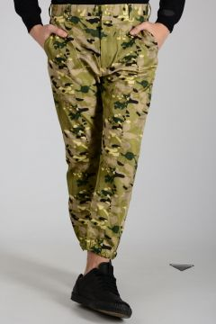 Camouflage Cotton Pants