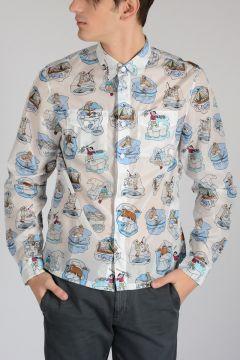 Printed Nylon Shirt