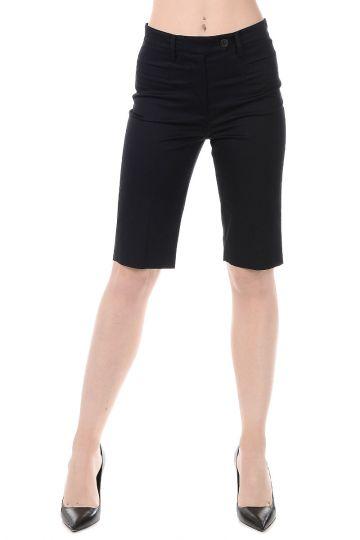 Pantalone Bermuda in Cotone Stretch