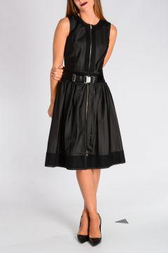 Vestito in Gabardine di Nylon