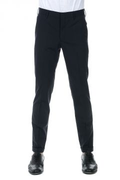 Stretch Virgin Wool Chino Pants