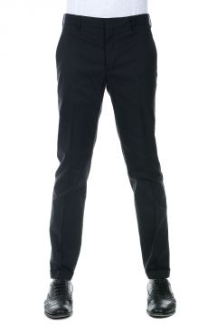 Cotton Blend Chino Pants